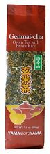 YamaMotoYama Loose Genmaicha Green Tea 200g with Roasted Brown Rice Popcorn Tea