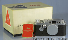 LEICA IIIG CHROME RANGEFINDER SM VINTAGE FILM CAMERA 906374 +MATCHING TAG +BOX