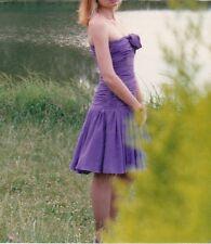 DIOR 2 Made in Italy vintage silk strapless dress abito vestito seta 44 IT (42)