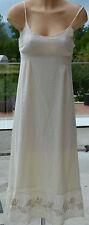 LA FÉE MARABOUTÉE -Magnifique robe longue beige - TAILLE 36 - EXCELLENT ÉTAT