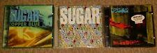 Sugar 3 CD Lot Cooper Blue File Under Bleeding Husker Du Bob Mould import