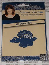 "Tattered Lace Die ""Stegosaurus"" Ttld977 Dinosaur For Cards Or Scrapbooking"