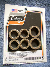 Rubberized Cork Pushrod Seals Panhead-Shovehead HD 1948-79 BT