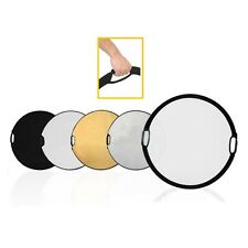 "110cm 43"" 5-in-1 Light Mulit Collapsible disc Reflector"