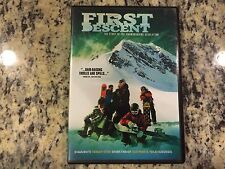 FIRST DESCENT THE STORY OF THE SNOWBOARDING REVOLUTION OOP DVD! 2006 SHAUN WHITE