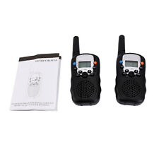 2Pcs LCD UHF Auto ChannelsTwo-Way Radio Wireless Walkie Talkie T-388 Intercom