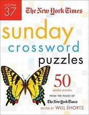 The New York Times Sunday Crossword Puzzles Volume 37: 50 Sunday Puzzles from th