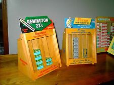 """Remington and Peters merchandisers 22 ammo display case, the small size 9"""" x 9"""""""