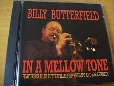 BILLY BUTTERFIELD IN A MELLOW TONE  CD JAZZ