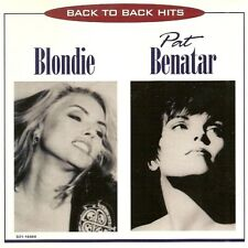 Blondie, Pat Benatar - Back to Back Hits (1996)  CD NEW/SEALED  SPEEDYPOST