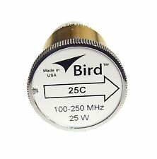 Bird 25C Plug-in Element 0 to 25 watts for 100-250 MHz for Bird 43 Wattmeters
