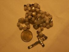 chapelet ancien argent nacre antique st silver mother of pearl rosary 44 cm
