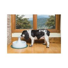 Dog Water Fountain Pet Bowl Circulating Filter Cat Drinking Dish Free Ship New