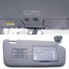OEM Interior Hand Sun Visor Shade RH Gray for KIA 2006 - 2010 2011 Rio / Pride