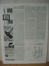 1949 Otis Men's Underwear Fashion Clothing Sportswear Vintage Print Ad 10100