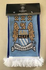 Manchester City Real Madrid UEFA Champions League Semifinal Official Scarf