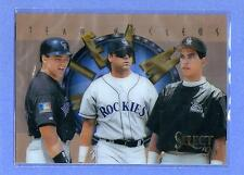 "COLORADO ROCKIES 1996 96 Select ""Team Nucleus"" #4/28 - Combined Shipping"