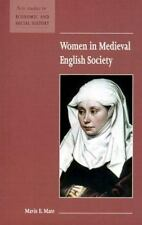 Women in Medieval English Society (New Studies in Economic and Social -ExLibrary