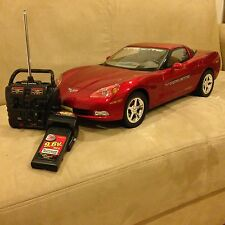 NEW BRIGHT Corvette C6 Red 1:6 Scale Remote Control R/C Car RTR 9.6V HUGE RARE!!