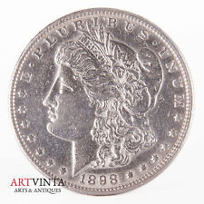 1898 Morgan One Dollar Silver Silber Münze USA Amerika Coin Liberty