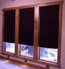 Light Block Black Out Pleated Shade Window Blinds Blocking Bedroom Cordless 6pcs