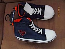 Men's CHICAGO BEARS Plush Gym Shoe SLIPPER~Size M (9-10)~ New withTags