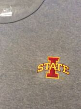 Nike Iowa State Cyclone DRI-FIT Large T-shirt - Gray