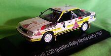 Norev, 1:43, Audi 200 Quattro, Rallye Monte-Carlo 1987, mit decals HB
