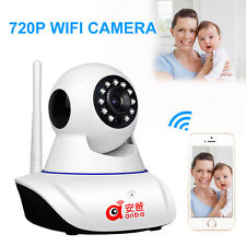 HD 720P Wireless IP Camera Indoor Wifi P2P Pan/Tilt Two-way Audio Motion Detecte