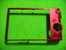 GENUINE SONY DSC-WX300 BACK CASE COVER RED REPAIR PARTS