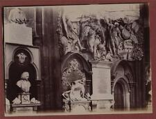 Westminster Abbey. Thomas Sprat. Zachary Pearce.  antique photograph mv.6a