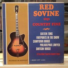 EXC LP~RED SOVINE~Sings Country Fine~[OG SOMERSET]~[1960's Country]