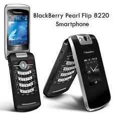 BlackBerry Pearl Flip 8220 (T-Mobile)Black Wifi Bluetooth 2MP Camera cell phone