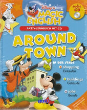 ENGLISCH für KINDER + Disney Magic English + Aktiv Lernbuch mit CD + Around Town