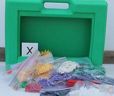 K'nex Green Storage Carry Case of Knex Building Parts