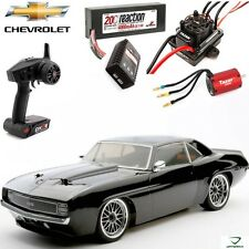 Vaterra VTR03046 1/10 1969 Camaro SS Brushless V100-S 4WD RTR Sedan w/ Battery