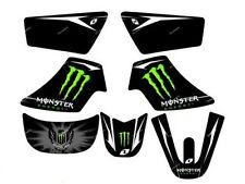 Kit Déco Stickers Monster PW50 PIWI PEE WEE YAMAHA Haute Qualité 3M