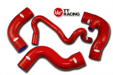 AUDI A4 1.8T 1800 Quattro Passat B5 Chassis Silicone Turbo Hose Kit Red