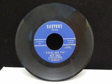 Patty Labelle - Where Are You/You'll Never Walk Alone on Nicetown HR1087 45RPM