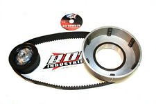 "New 79-84 big twin Shovelhead BDL 1.5"" 8mm open kick only Belt Drive primary"