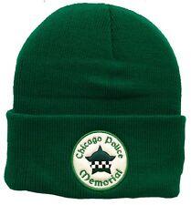Buy Chicago Police Memorial Sub-dued Black Skull Knit Cap online  5dfbcc13b0d