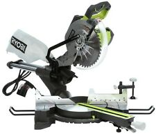 Ryobi 15-Amp 10 In. Corded Sliding Crosscut Bench Laser Guide Compound Miter Saw