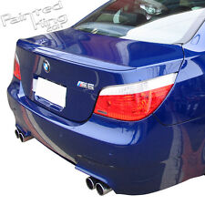 Painted For 04-10 BMW 5-Series E60 M5 Type Sedan Rear Trunk Spoiler Wing ABS