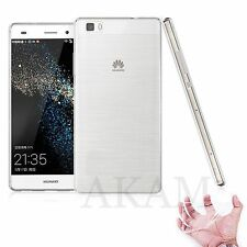 Huawei P8 lite Ultra Slim Soft Silicon Transparent Crystal Clear Gel Case Cover