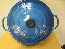 NEW LE CREUSET SIGNATURE MARSEILLE 9 QT ROUND FRENCH OVEN #LS2501-3059