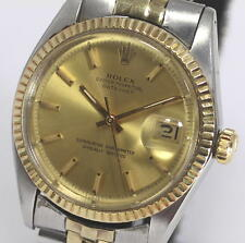 Vintage Auth ROLEX Ref.1601 cal.1570 Datejust Men's Wrist Watch_282574