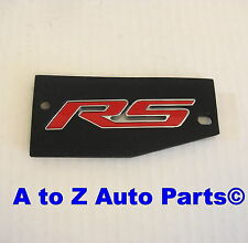 NEW 2010-2013 Chevrolet Camaro RED RS Trunk Lid Emblem / Nameplate, OEM GM