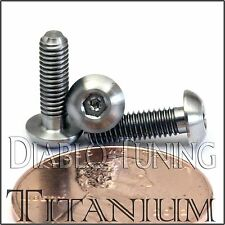 TITANIUM M3 x 10mm - DIN 9427 BUTTON HEAD Socket Cap Screw - BHCS - Ti Hex Allen