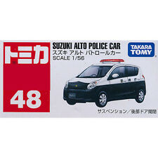 Takara Tomy Tomica #48 Suzuki Alto Police Car 1/56 Diecast Toy Car JAPAN