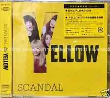 New SCANDAL YELLOW First Limited Edition [CD+DVD] ESCL-4592 Japan Free Shipping